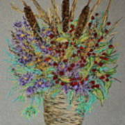 Maine Bouquet Poster by Collette Hurst