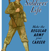 Make The Regular Army Your Career Poster by War Is Hell Store