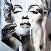 Marilyn Monroe Poster by Fatima Azimova