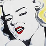 Marilyn Monroe Poster by Joseph Palotas
