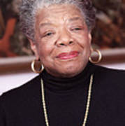 Maya Angelou Poster by Robert Ponzoni