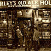 Mcsorley's Old Ale House Poster by Randy Aveille