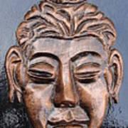 Meditating Buddha Poster by Rajesh Chopra