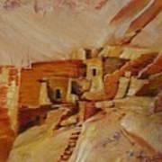 Mesa Verde Poster by Summer Celeste