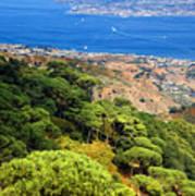 Messina Strait - Italy Poster by Silvia Ganora