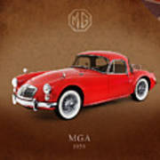 Mga 1959 Poster by Mark Rogan