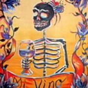 Mi Vino Poster by Heather Calderon