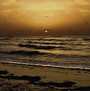 Miami Sunrise Poster by Gary Dean Mercer Clark