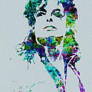 Michael Jackson Poster by Naxart Studio