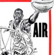Michael Jordan Poster by Vincent Wolff