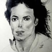 Michael Poster by LeeAnn Alexander