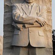 Mlk Memorial In Washington Dc Poster by Brendan Reals