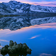 Mono Lake Twilight Poster by Inge Johnsson