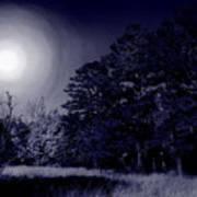Moon And Dreams Poster by Nina Fosdick