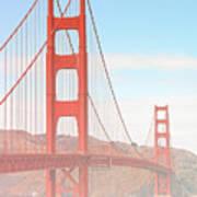 Morning Has Broken - Golden Gate Bridge San Francisco Poster by Christine Till