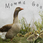 Mother Goose Poster by Juli Scalzi