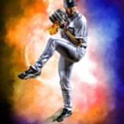 Mr. Justin Verlander Poster by Nicholas  Grunas