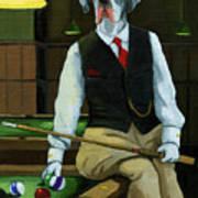 Mr. Thomas Tudor - Great Dane Portrait Poster by Linda Apple