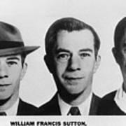 Mug Shots Of Willie Sutton 1901-1980 Poster by Everett