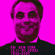 Mugshot John Gotti M88 Poster by Wingsdomain Art and Photography