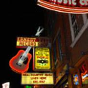 Music City Nashville Poster by Susanne Van Hulst