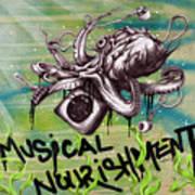 Musical Nourishment Poster by Tai Taeoalii