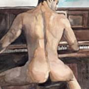 Musician Poster by Yuliya Podlinnova
