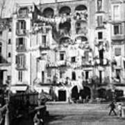 Naples Italy - C 1901 Poster by International  Images