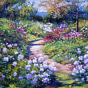 Nature's Garden Poster by David Lloyd Glover