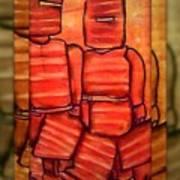 Ned Kelly Gang Art - Sunset Killers Poster by Joan Kamaru