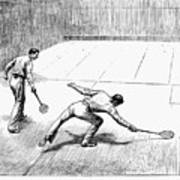 New York: Racket Club Poster by Granger