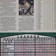 Nicklaus 1986 Masters Victory Poster by Marc Yench