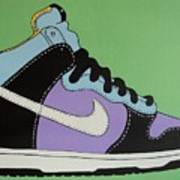 Nike Shoe Poster by Grant  Swinney