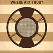 No055 My O Brother Where Art Thou Minimal Movie Poster Poster by Chungkong Art