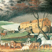 Noah's Ark Poster by Edward Hicks