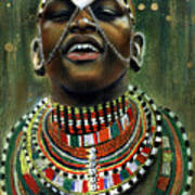 Nubian Dream Poster by Gary Williams