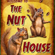 Nuthouse Poster by JQ Licensing