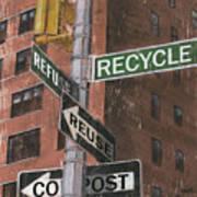 Nyc Broadway 1 Poster by Debbie DeWitt