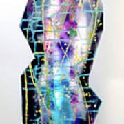 Nyx - Night Goddess Poster by Mordecai Colodner
