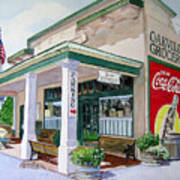 Oakville Grocery Poster by Gail Chandler