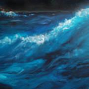 Ocean II Poster by Patricia Motley