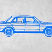 Old Mercedes Benz Poster by Naxart Studio