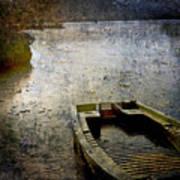 Old Sunken Boat. Poster by Bernard Jaubert