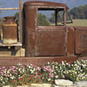 Old Truck In Tennessee Poster by Stan and Anne Foster
