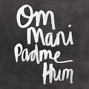 Om Mani Padme Hum Poster by Linda Woods
