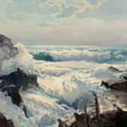 On The Maine Coast Poster by Pg Reproductions