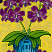 Orchid Delight Poster by Lisa  Lorenz