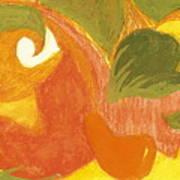 Organic Conversation Poster by Anne-Elizabeth Whiteway