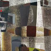 Os1957bo016 Abstract Landscape Of Potosi Bolivia 20.3 X 28.9 Poster by Alfredo Da Silva