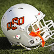 Osu Football Helmet Poster by Replay Photos